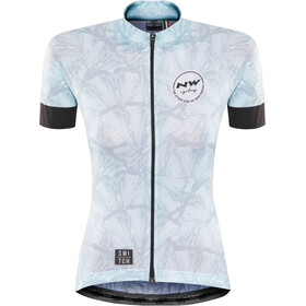 Northwave Bttrfly SS Jersey Dame light blue